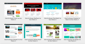 Kalatu Blogging Platform Themes...Only 8!