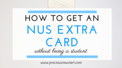 how to get an nus extra card without being a student