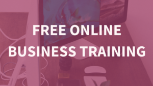 online business training for free