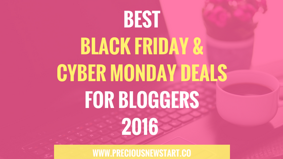 best black friday cyber monday deals for bloggers and internet marketers 2016 precious new start. Black Bedroom Furniture Sets. Home Design Ideas