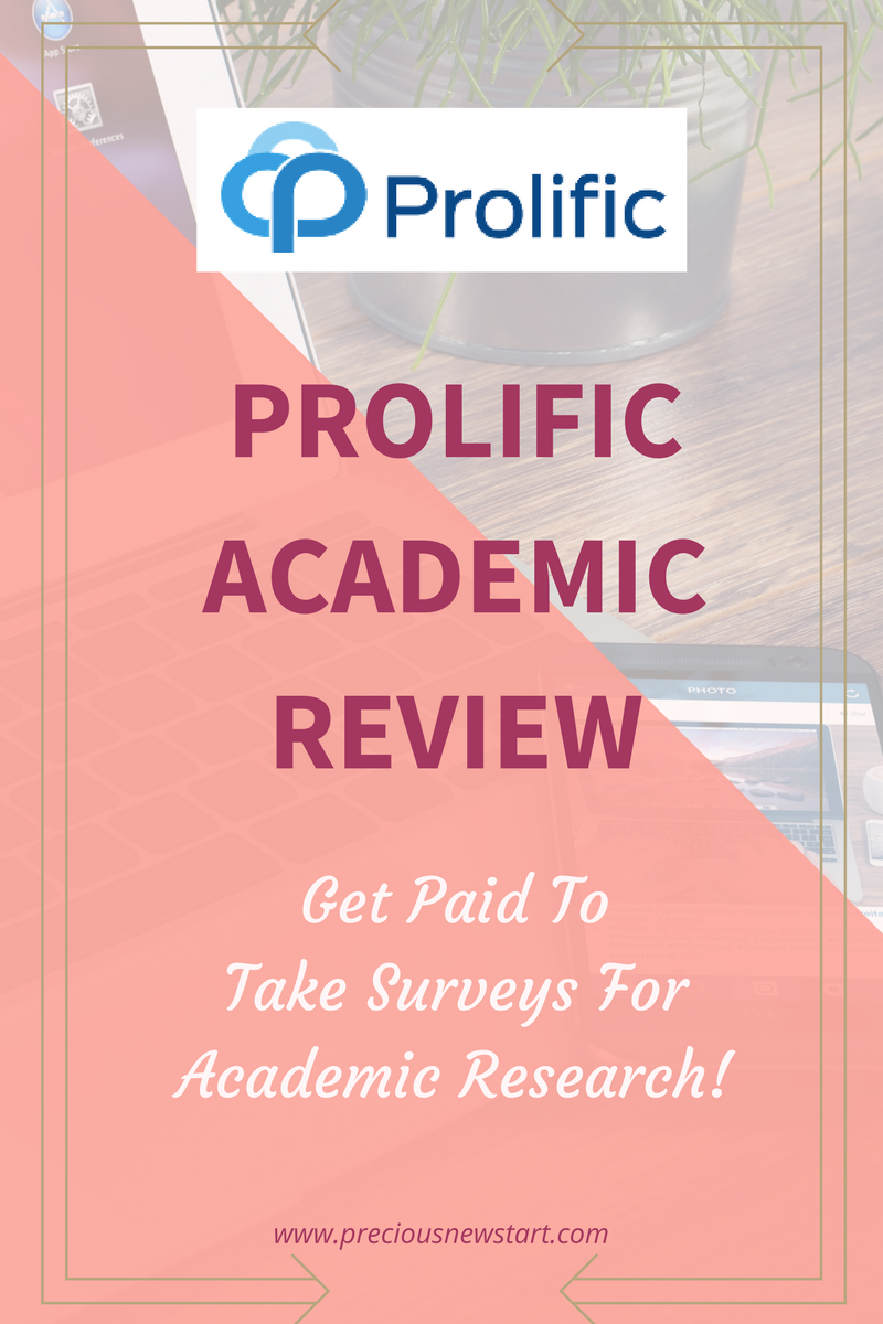 prolific academic review get paid to take surveys for academic research